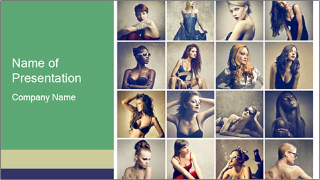 Composition PowerPoint Template