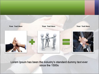 Group of business people PowerPoint Templates - Slide 22