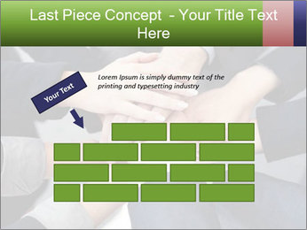 Group of business people PowerPoint Template - Slide 46