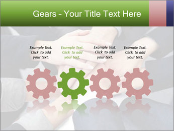 Group of business people PowerPoint Template - Slide 48