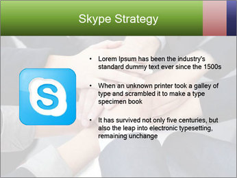 Group of business people PowerPoint Template - Slide 8