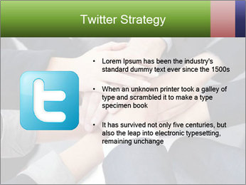 Group of business people PowerPoint Template - Slide 9