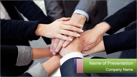 Group of business people PowerPoint Template