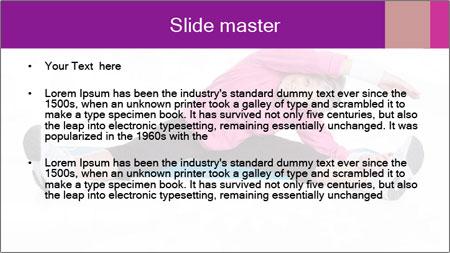Portrait Of Senior Woman PowerPoint Template - Slide 2