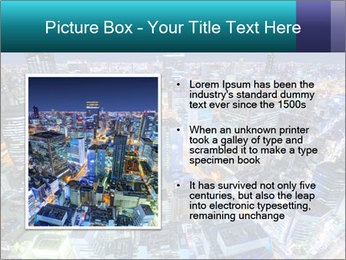 Japan cityscape PowerPoint Templates - Slide 13
