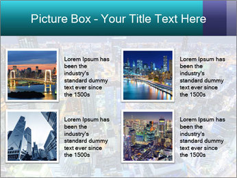 Japan cityscape PowerPoint Templates - Slide 14