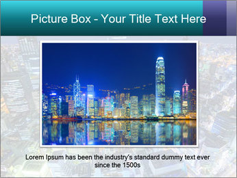 Japan cityscape PowerPoint Templates - Slide 16