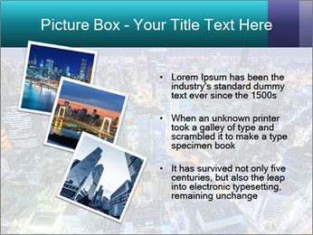 Japan cityscape PowerPoint Templates - Slide 17