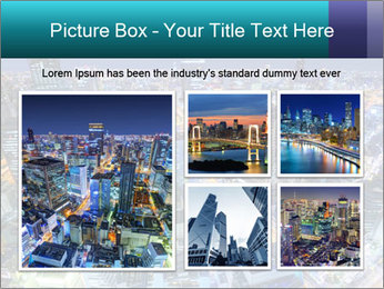 Japan cityscape PowerPoint Templates - Slide 19