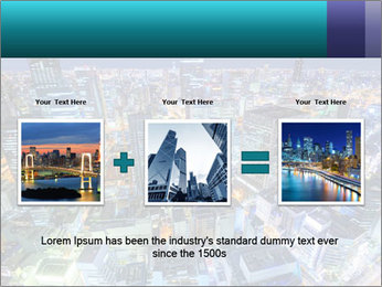 Japan cityscape PowerPoint Templates - Slide 22