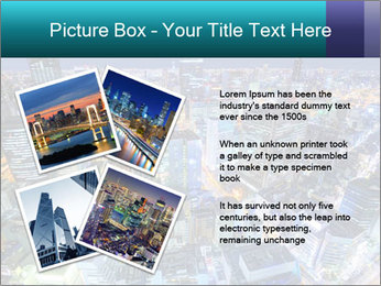Japan cityscape PowerPoint Templates - Slide 23