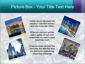 Japan cityscape PowerPoint Templates - Slide 24