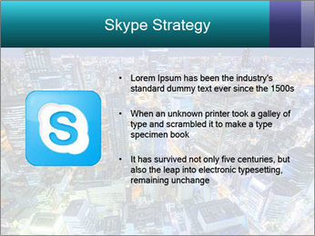 Japan cityscape PowerPoint Templates - Slide 8