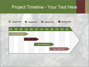 Mountain Goat on Cliff PowerPoint Template - Slide 25