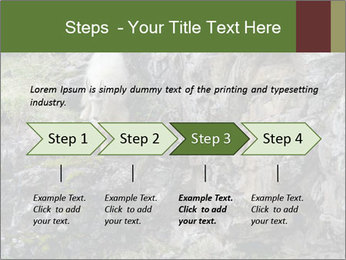Mountain Goat on Cliff PowerPoint Template - Slide 4