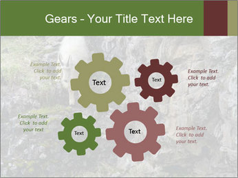 Mountain Goat on Cliff PowerPoint Template - Slide 47