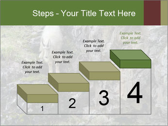 Mountain Goat on Cliff PowerPoint Template - Slide 64
