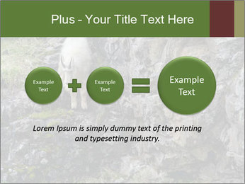 Mountain Goat on Cliff PowerPoint Template - Slide 75