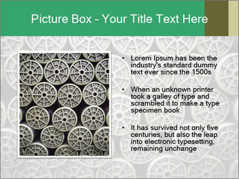 Old and empty reel PowerPoint Template - Slide 13
