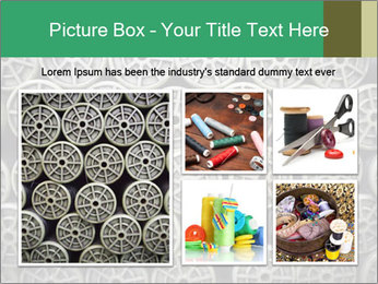 Old and empty reel PowerPoint Template - Slide 19