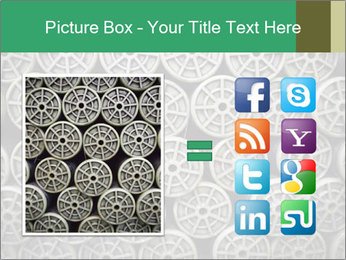 Old and empty reel PowerPoint Template - Slide 21