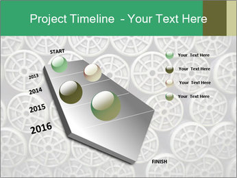 Old and empty reel PowerPoint Template - Slide 26
