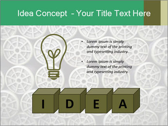 Old and empty reel PowerPoint Template - Slide 80