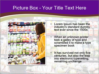 Young woman shopping PowerPoint Templates - Slide 13