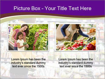 Young woman shopping PowerPoint Templates - Slide 18