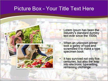Young woman shopping PowerPoint Templates - Slide 20