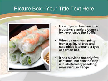 Fresh Spring Roll PowerPoint Template - Slide 13