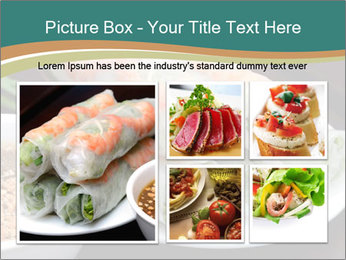 Fresh Spring Roll PowerPoint Template - Slide 19