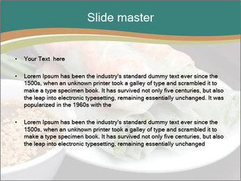 Fresh Spring Roll PowerPoint Template - Slide 2