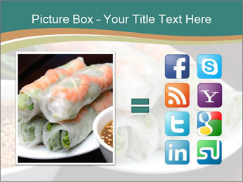 Fresh Spring Roll PowerPoint Template - Slide 21