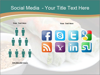 Fresh Spring Roll PowerPoint Template - Slide 5