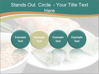 Fresh Spring Roll PowerPoint Template - Slide 76