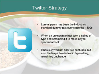 Fresh Spring Roll PowerPoint Template - Slide 9