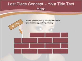 The girl the mulatto PowerPoint Templates - Slide 46