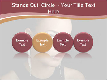 The girl the mulatto PowerPoint Templates - Slide 76