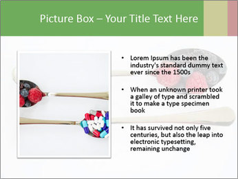 Berries and pills PowerPoint Templates - Slide 13