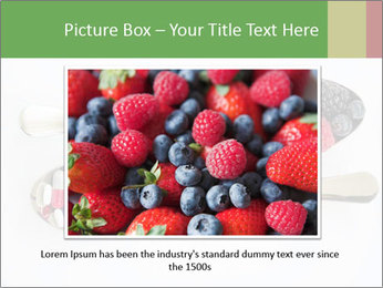 Berries and pills PowerPoint Templates - Slide 15