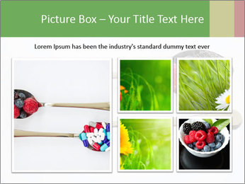 Berries and pills PowerPoint Templates - Slide 19