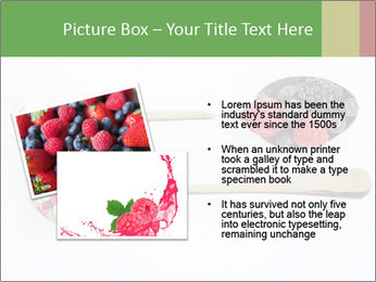 Berries and pills PowerPoint Templates - Slide 20