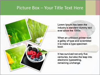Berries and pills PowerPoint Templates - Slide 23