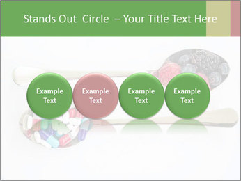 Berries and pills PowerPoint Templates - Slide 76