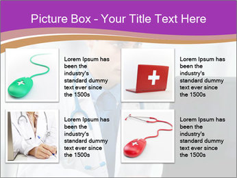 Doctor using PowerPoint Template - Slide 14