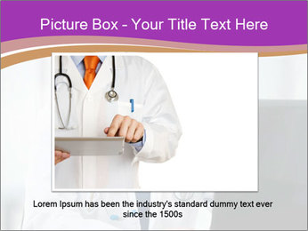 Doctor using PowerPoint Template - Slide 15