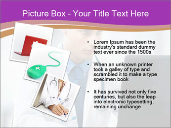 Doctor using PowerPoint Template - Slide 17