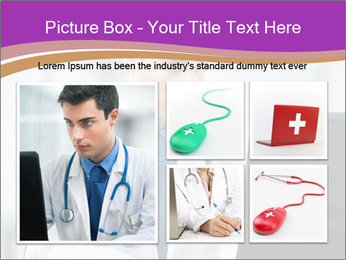 Doctor using PowerPoint Template - Slide 19