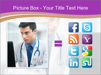 Doctor using PowerPoint Template - Slide 21